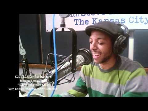 """KCUR 89.3 Central Standard episode 1/4/11   Riding the Troost Max with Kemet """"thePhantom*"""" Coleman"""