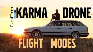 🇩🇪BMW E34 Chasing Sunsets - Overview of Karma Drone Flight Modes