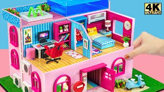 How To Make Three Floor Miniature Cardboard House for Cute Pet  DIY Miniature Cardboard House #253