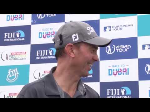 Jason Norris - Press Interview after win in Fiji