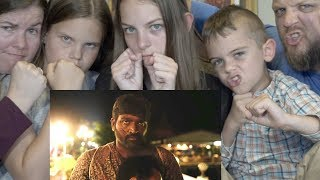 SINDHUBAADH   AMERICAN FAMILY REACTION
