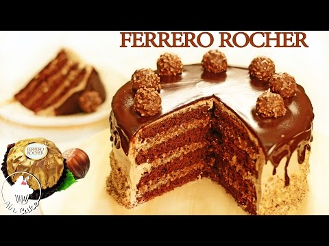 Фантастический FERRERO ROCHER ТОРТ| Как приготовить торт Ферреро Роше
