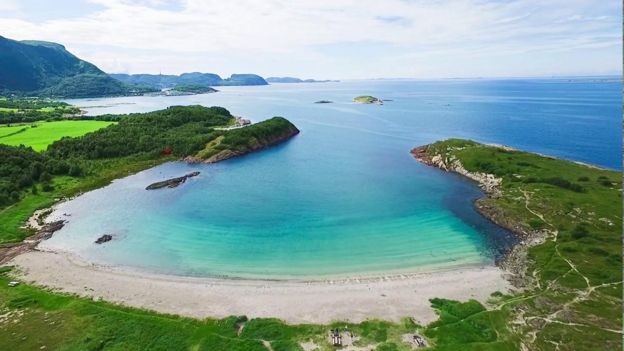 Ausvika beach outside Bodø in Nordland