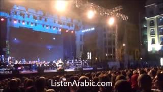 Ziad Rahbani live concert Beirut Holidays 2013 زياد الرحباني في بيروت