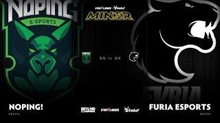 NoPing e-sports vs FURIA Esports Game 2 - SL ImbaTV D2 Minor S3 SA Qualifier: GRAND FINALS