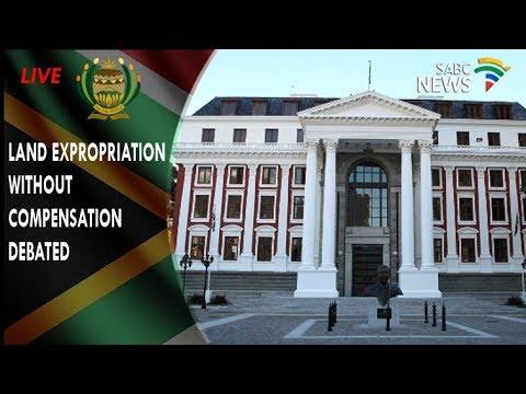 EFFs motion for land expropriation debated in Parliament