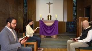 Vespers (Evening Prayer): March 27, 2020