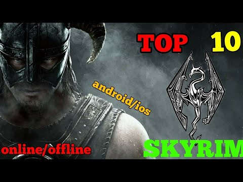 TOP 10 BEST Games Like Skyrim For Android & IOS Of All Time! (2020)
