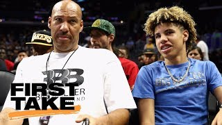 Is lavar ball a bully? | first take | espn