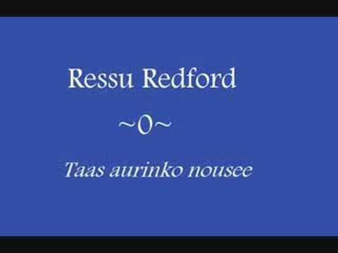 Ressu Redford - Taas aurinko nousee