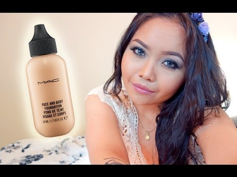DEMO: MAC Face and Body Foundation in C3 on Oily Skin - maricarljanah