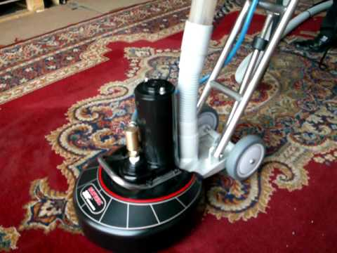 Ashbys Rotovac 360i Carpet Cleaning Tool In Action!