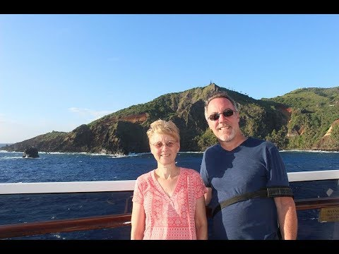 PITCAIRN ISLAND EXPERIENCE - views from the ship