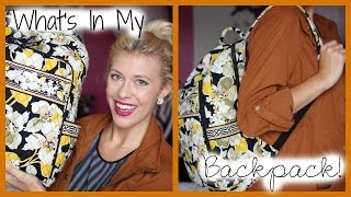 What's In My Backpack! Thumbnail