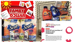 New All Digital Deals for the $5/$25 at Family Dollar 7-19 thru 7-20