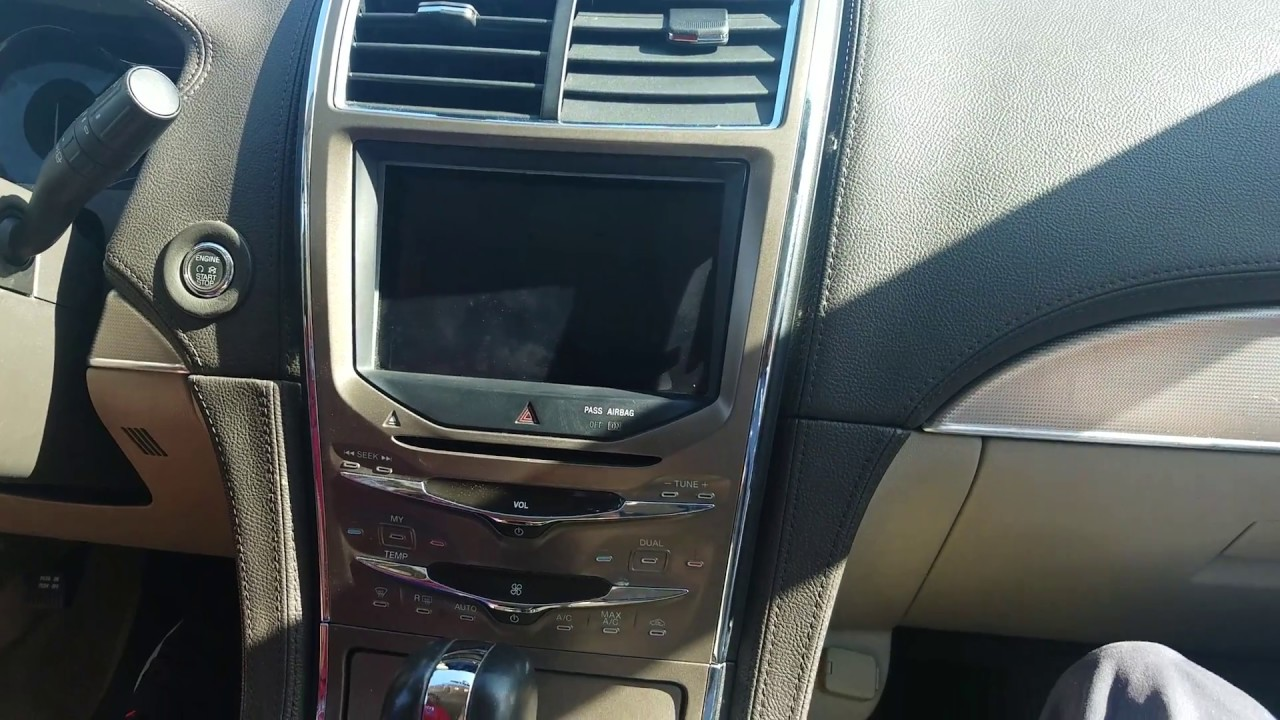 2007 Ford Fusion Radio Display How To Remove Navigation From Lincoln Mkx 2011 For Repair