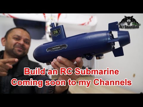 How to Build an RC Submarine with 6 Channel DIY Submarine Kit