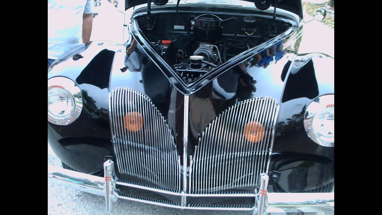 1940 Lincoln Zephyr Four Door Sedan Blk Longwood071313 Youtube
