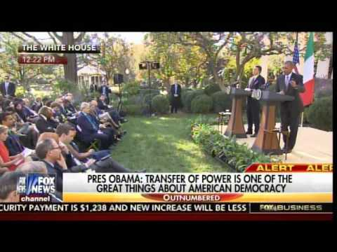 Obama Rips Trump at White House Presser with Italian Prime Minister