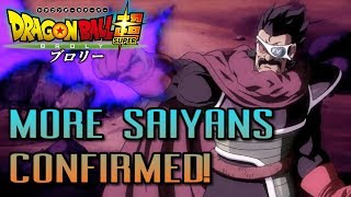 MORE Saiyans! Paragus Confirmed for Dragon Ball Super Broly Movie