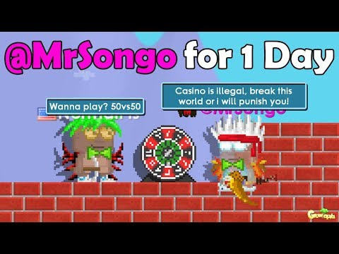 BEING MODERATOR(@MrSongo) FOR 1 DAY!! OMG!!   GrowTopia