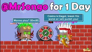 BEING MODERATOR (@MrSongo) FOR 1 DAY!! OMG!! | GrowTopia