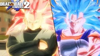 BATTLE OF VEGITO'S! Team SSR3 Vegito Black Vs Team SSGSS3 Vegito Blue | Dragon Ball Xenoverse 2 Mods