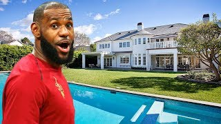 LeBron James's Incredible House in Los Angeles (Inside & Interior & Exterior) | 2018 NEW HD