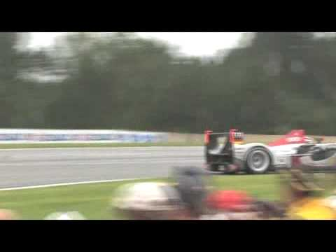 Petit Le Mans: Audi R15 TDI race footage 2