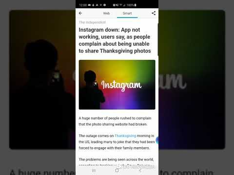 Instagram down: App not working, users say, as people complain ...