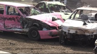 Petrolia Fair Demolition Derby 2015