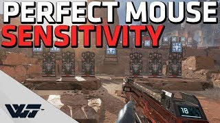 MOUSE SENSITIVITY GUIDE for Apex Legends - How to set it up and practice aim