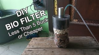 How To Make Cheap Bio Filter