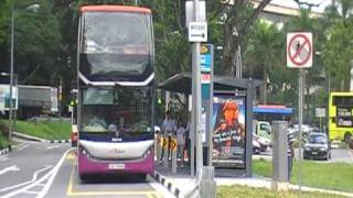SBS Transit Scania K310UD [SBS7888K] departing Shenton Way Bus Terminal