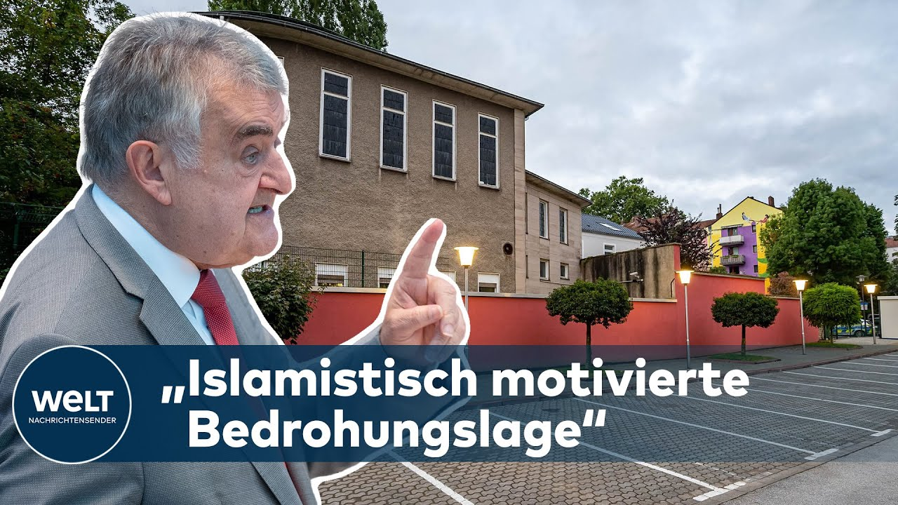 """Download Innenminister REUL: """"Es bestand die Gefahr eines Anschlags auf die Synagoge in Hagen"""""""