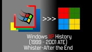 Windows XP History (1999-2001 ATE)