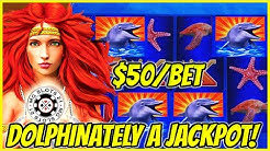 ⚡️Lightning Link Magic Pearl JACKPOT HANDPAY ⚡️HIGH LIMIT $50 Bonus Round Slot Machine Casino ⚡️