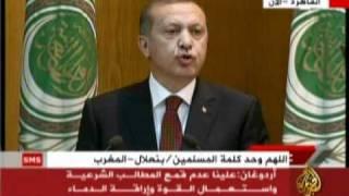 أردوغان في جامعة الدول العربية