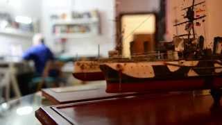 Executive chef finds work-life balance with ship model building