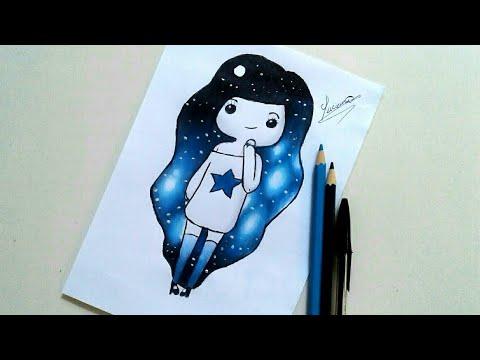 Como Desenhar Garota Tumblr Passo A Passo