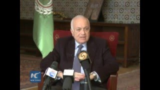Arab league chief on Xi's middle east tour