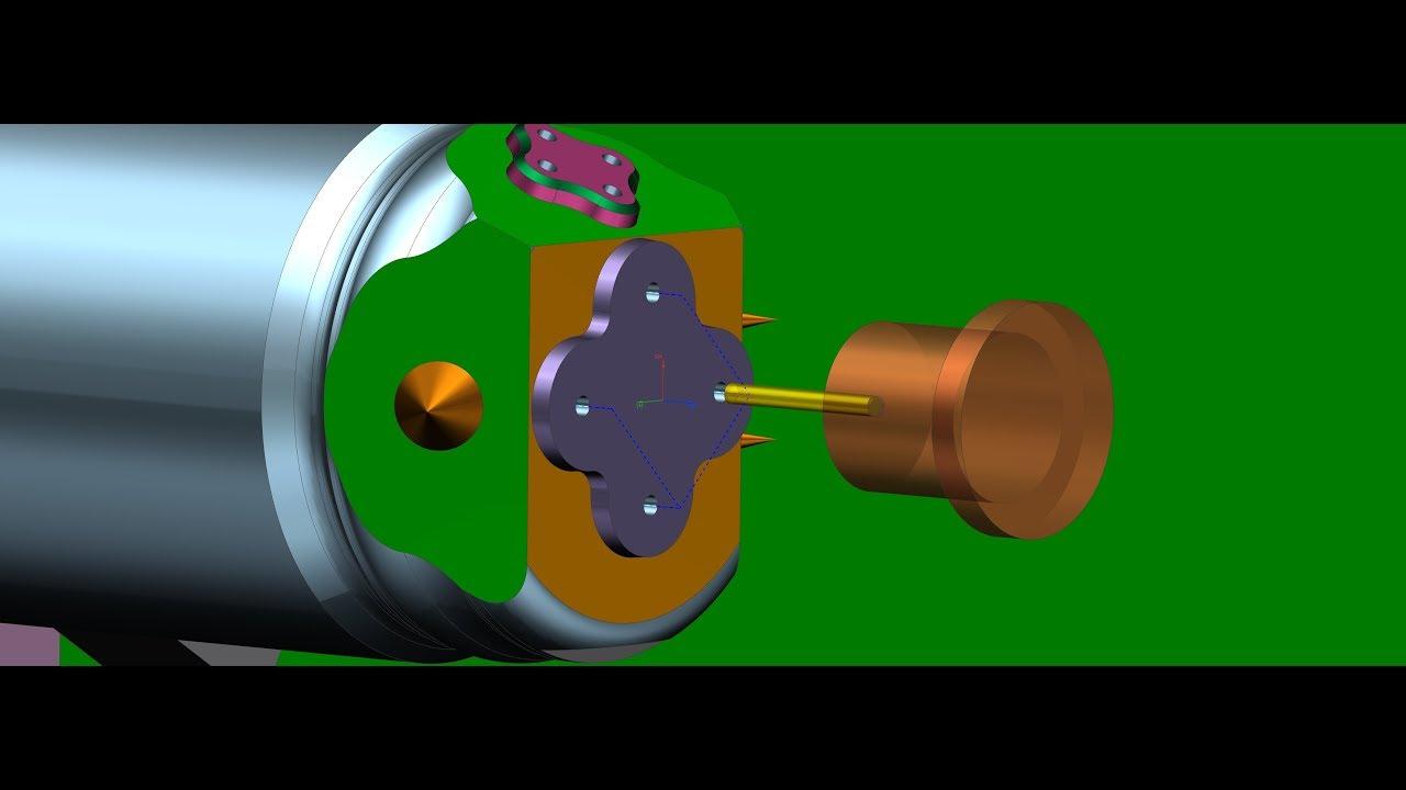 Different ways of programming mill-turn machine (part 1