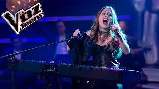 Nikki canta 'Yo no quiero volverme tan loco' | Semifinal | La Voz Teens Colombia 2016