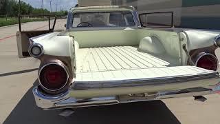 1959 Ford Ranchero Gateway Classic Cars #900 Houston Showroom