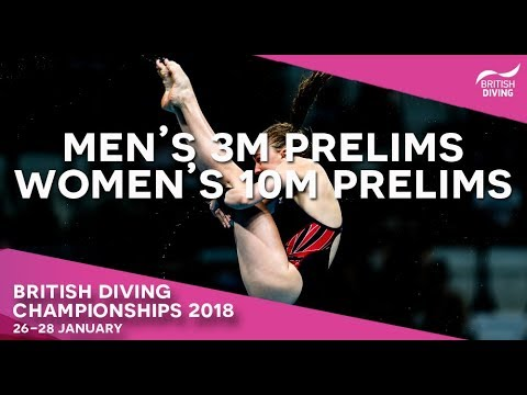 British Diving Championships 2018 - Session Four