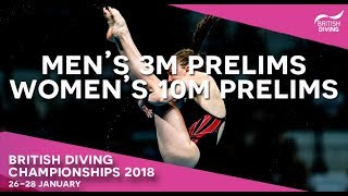 British Diving Chionships 2018 Session Four