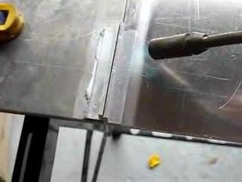 How To Braze 1 8 Gauge Aluminum