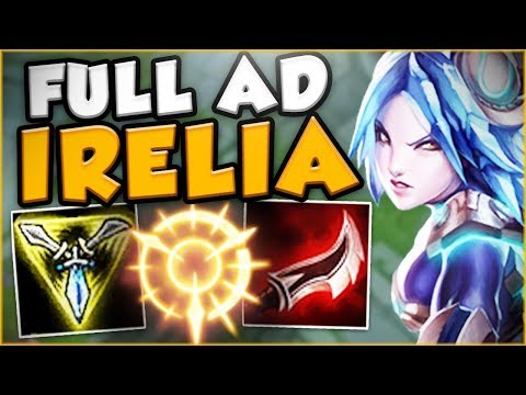HOW NUTS IS FULL AD IRELIA WITH THE NEW RUNES?! NEW IRELIA S
