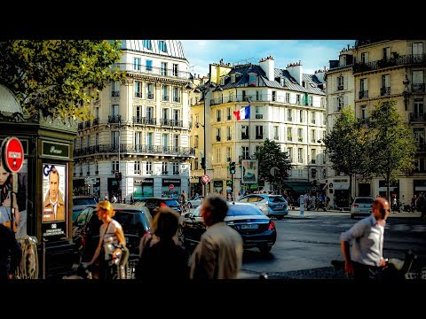 A Walk Down Boulevard Saint-Germain, Paris