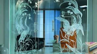 видео Применение стекла в интерьере